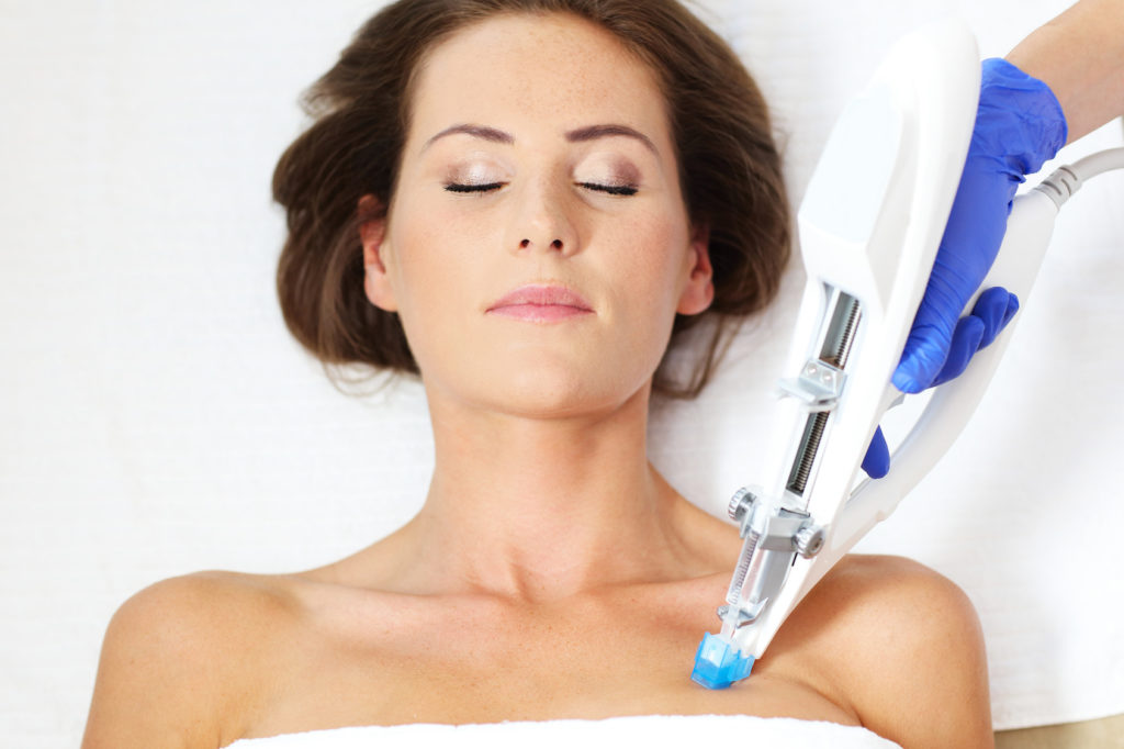 woman-having-breast-mesotherapy-in-beauty-salon